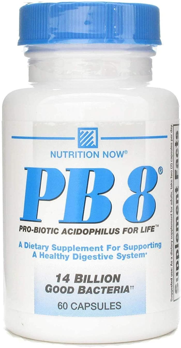 Nutrition Now Pb8 Acidophilus Pack of 6