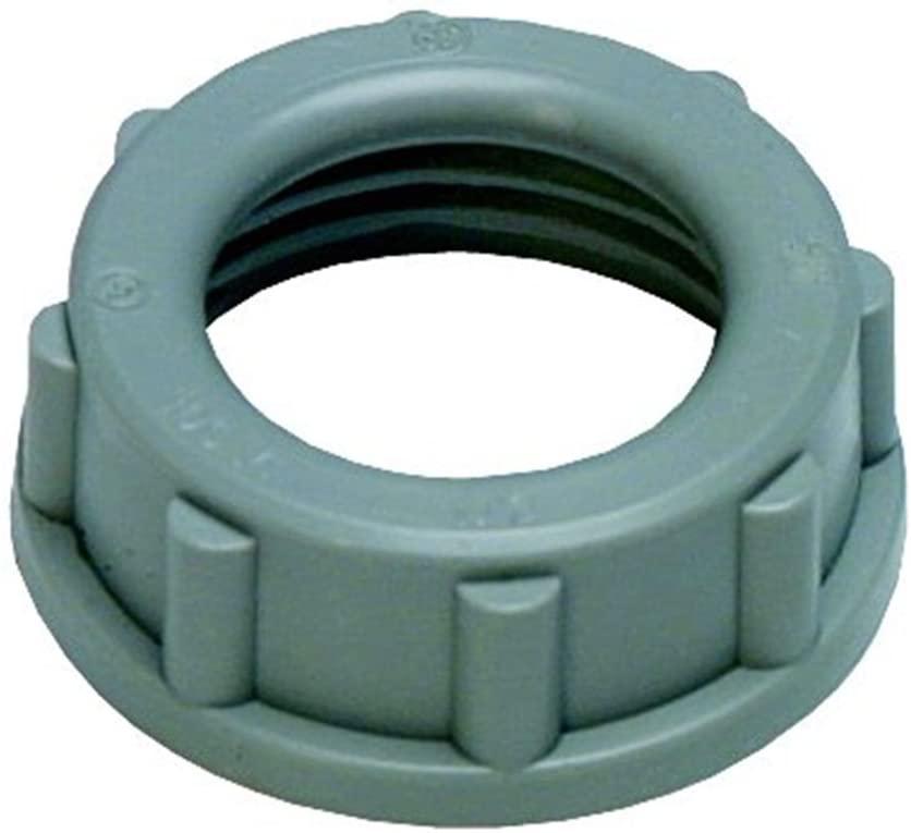 Sigma Electric ProConnex 49323 Rigid Plastic Insulating Bushing 1-Inch, 1-Pack