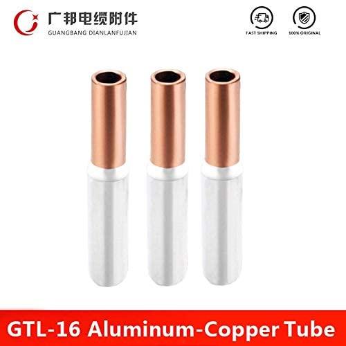 Davitu Terminals - GTL-16 16mm2 Ferrule Connector Copper Aluminum CU-AL Tube Cable Wire Bimetallic Splice Sleeve Lug Crimp Terminal Factory Direct - (Color: GTL-16)