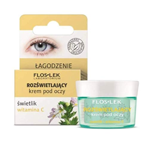 Floslek Eye Cream with Eyebright And Vitamin C - 15 ml