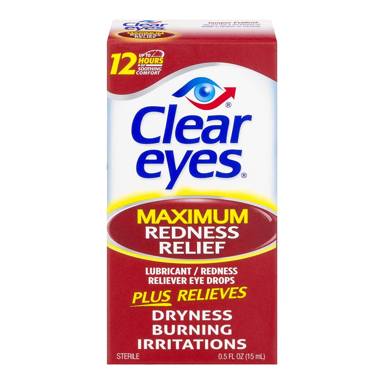 Clear Eyes Maximum Redness Relief Eye Drops 0.50 oz