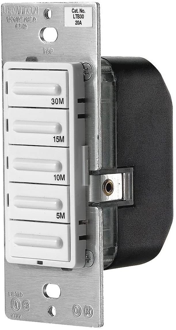 Preset 5-Button Timer Switch, 30 Minute