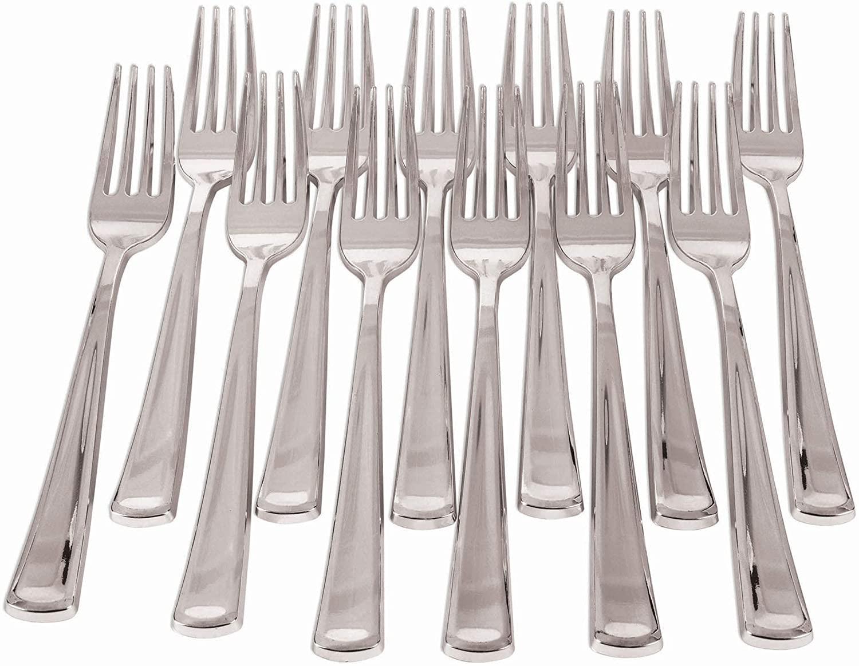 Forum Novelties X81853 Silver Plated Forks