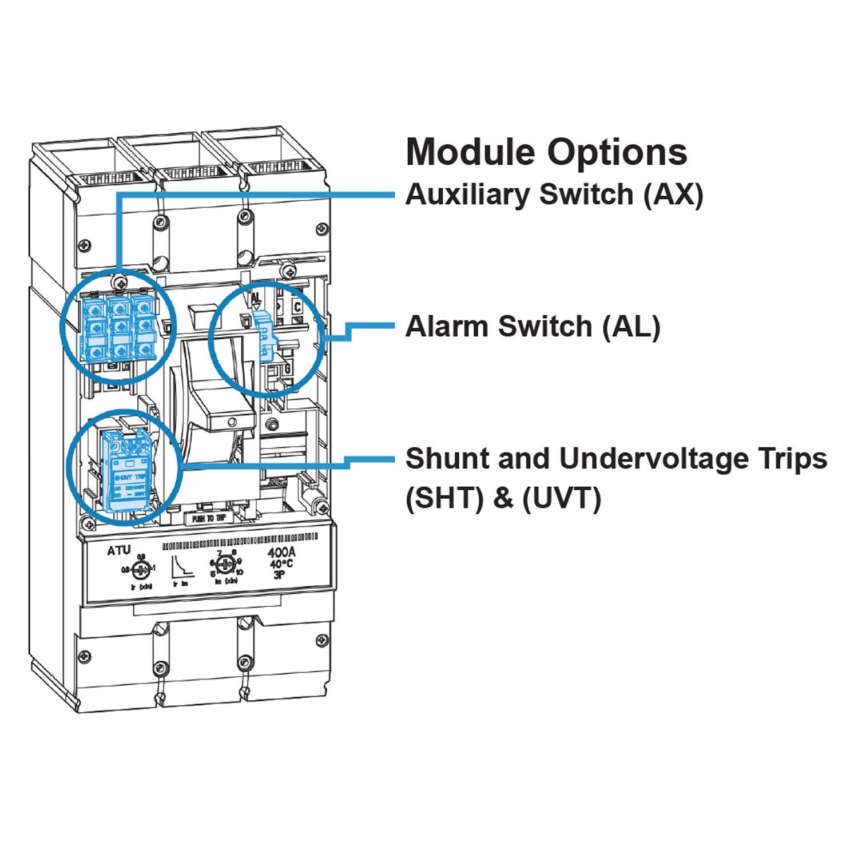 ASI UVT-5-24 MCCB Undervoltage Release Module