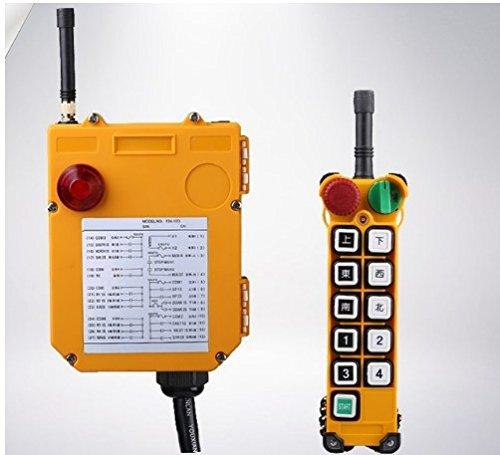 GOWE F24-10D, 24V,36V,48V,220V,380V Industrial Wireless Remote Control for Electric Winch Windlass Lifting Hoist Trolley Lifting Over Color:48v
