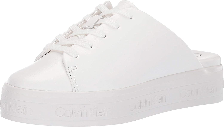 Calvin Klein Women's Jackay, White, Size 9.0