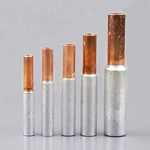 Davitu Electrical Equipments Supplies - 3PCS GTL-16 GTL-25 GTL-35-50 Copper Aluminum CU-AL Tube Cable Wire Bimetallic Splice Sleeve Lug Ferrule Connector Crimp Terminal - (Pins: GLT-70)