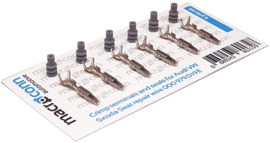 Macroconn Crimp terminals for Sealed Repair Wire 000979019E 6 Pieces