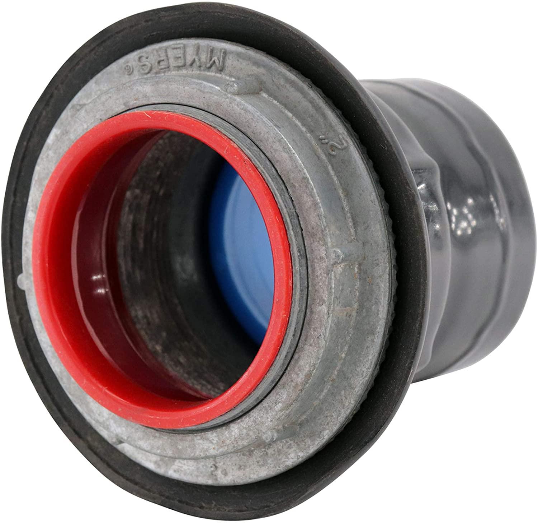 Plasti-Bond Robroy PRST6 PVC Coated Conduit Knockout Hub, 2