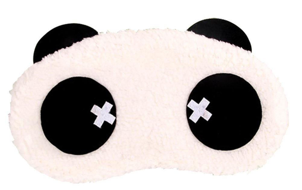Comfortable Cute Panda Eye Mask with Removeable Ice Bag Relieves Insomnia and Stress 4#