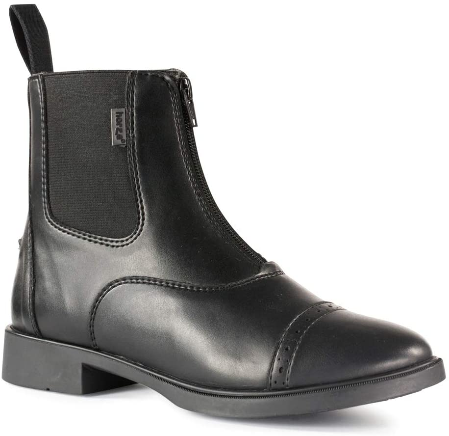 Horze Ladies' Wexford Front Zip Paddock Boots