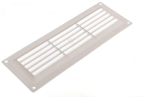 Fixed Louvre Air Vent Grille For Openings Up To 9 X 3 229Mm X 76Mm by DIRECT HARDWARE