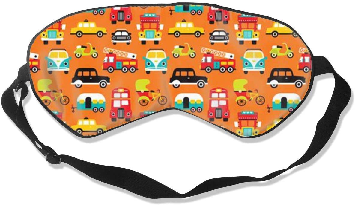 Car Fire Truck Women Men Eye Shade Cover for Sleeping,Eye Mask for Night Sleep