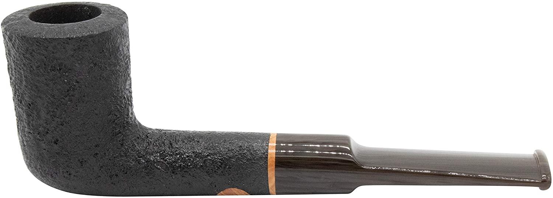 Scott's Handcrafted Black Dublin Tobacco Pipe - TP8536