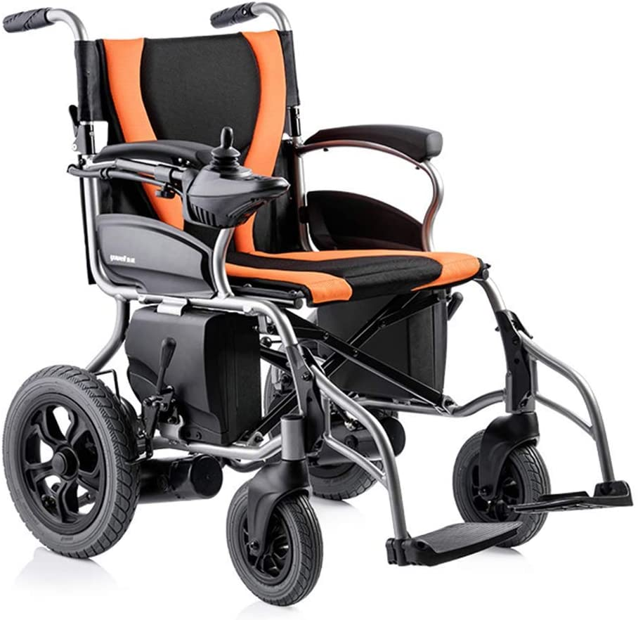 wheelchair Medical Rehab Chair, Wheelchair,Electric Powered Wheelchair, Lightweight Portable Folding Heavy Duty Mobility Scooter,Compact Motorized Wheelchair