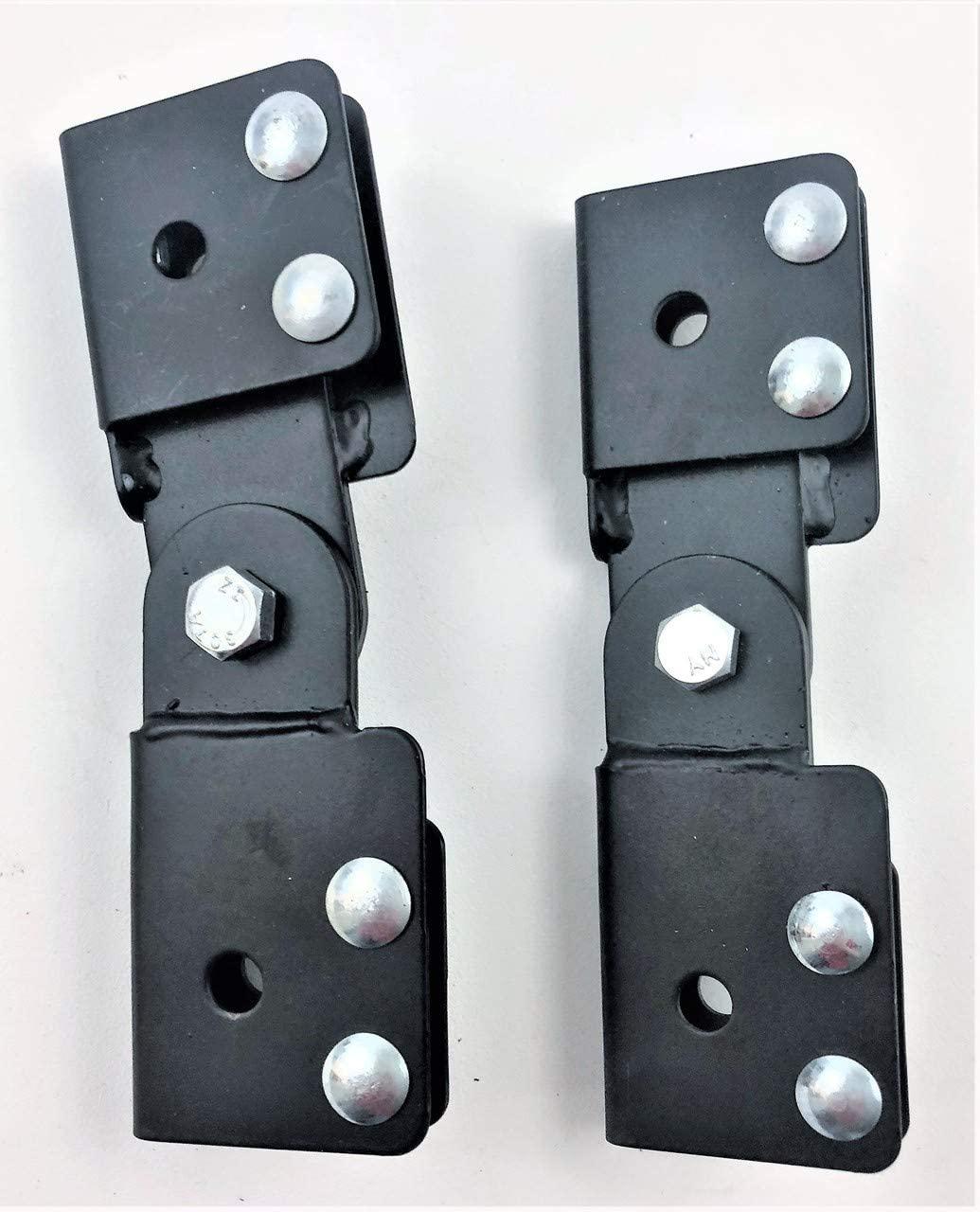 HOFFMAN ENCLOSURES LABSKB ADJ Butt Splice KIT Black