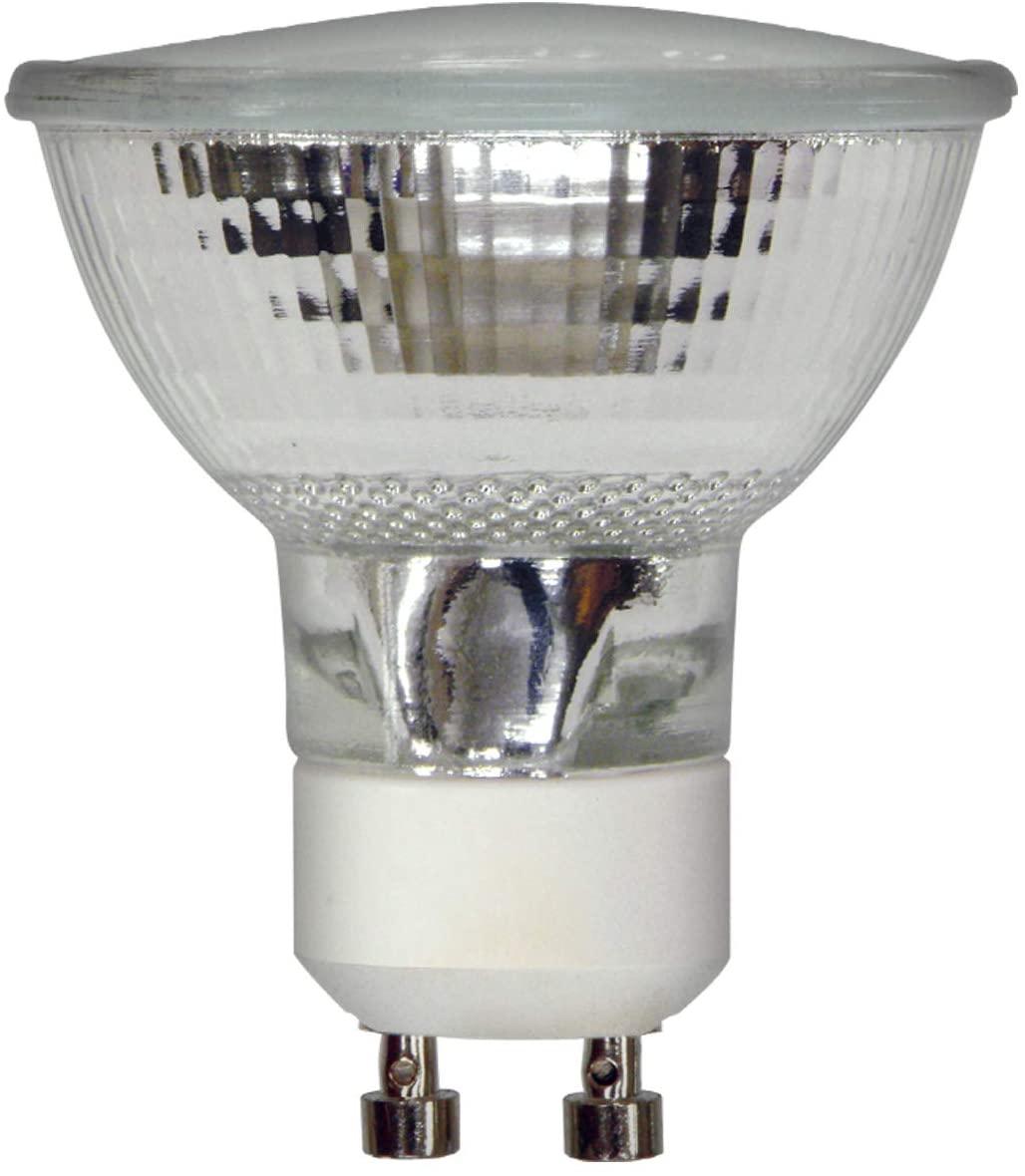 GE Reveal HD Halogen Indoor Flood Light Bulb (50 Watt Halogen Light Bulbs), 400 Lumen, GU10 Base Light Bulb, 1-Pack Floodlight Bulbs
