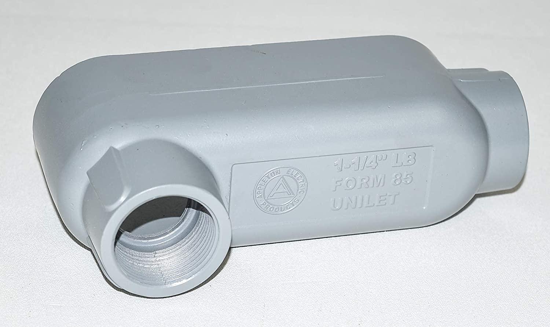 O-Z/Gedney LB-125A Form 85 Unilets Conduit Outlet Threaded Body, Type LB, 1-1/4