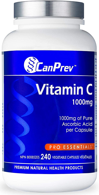 CanPrev Vitamin C, 240 vegicaps