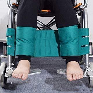 Wheelchair Footrest Leg Restraint Strap Wheelchair Seat Belt Medical Safety Transport Foot Support Belt for Elderly & Seniors, Handicap Accessory (Olive)