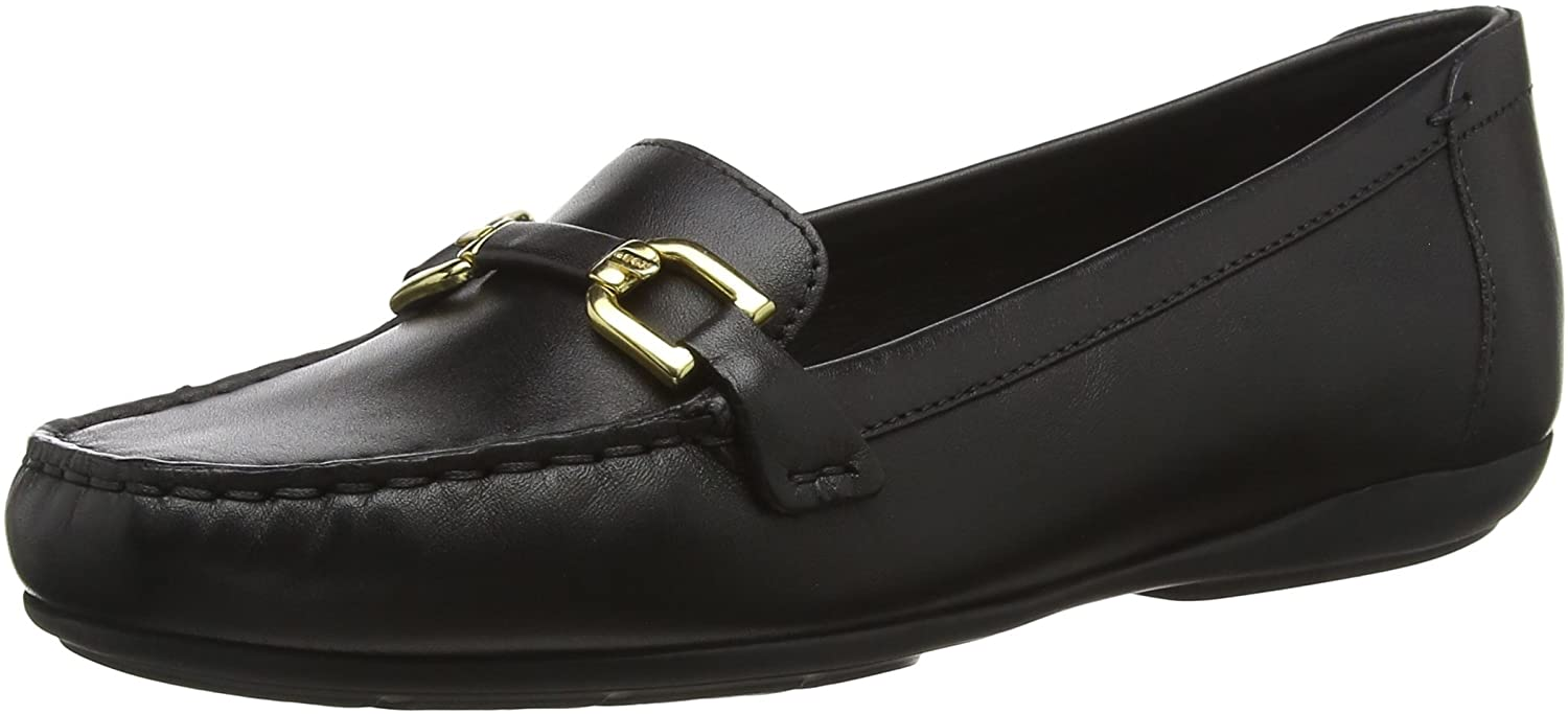 Geox Women's Annytah 2 Leather Bit Loafer Flat