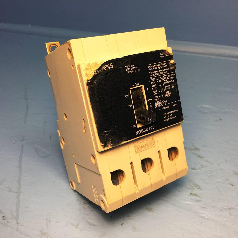 Siemens / Ite / Gould NGB3B125 (ITE) Circuit Breakers