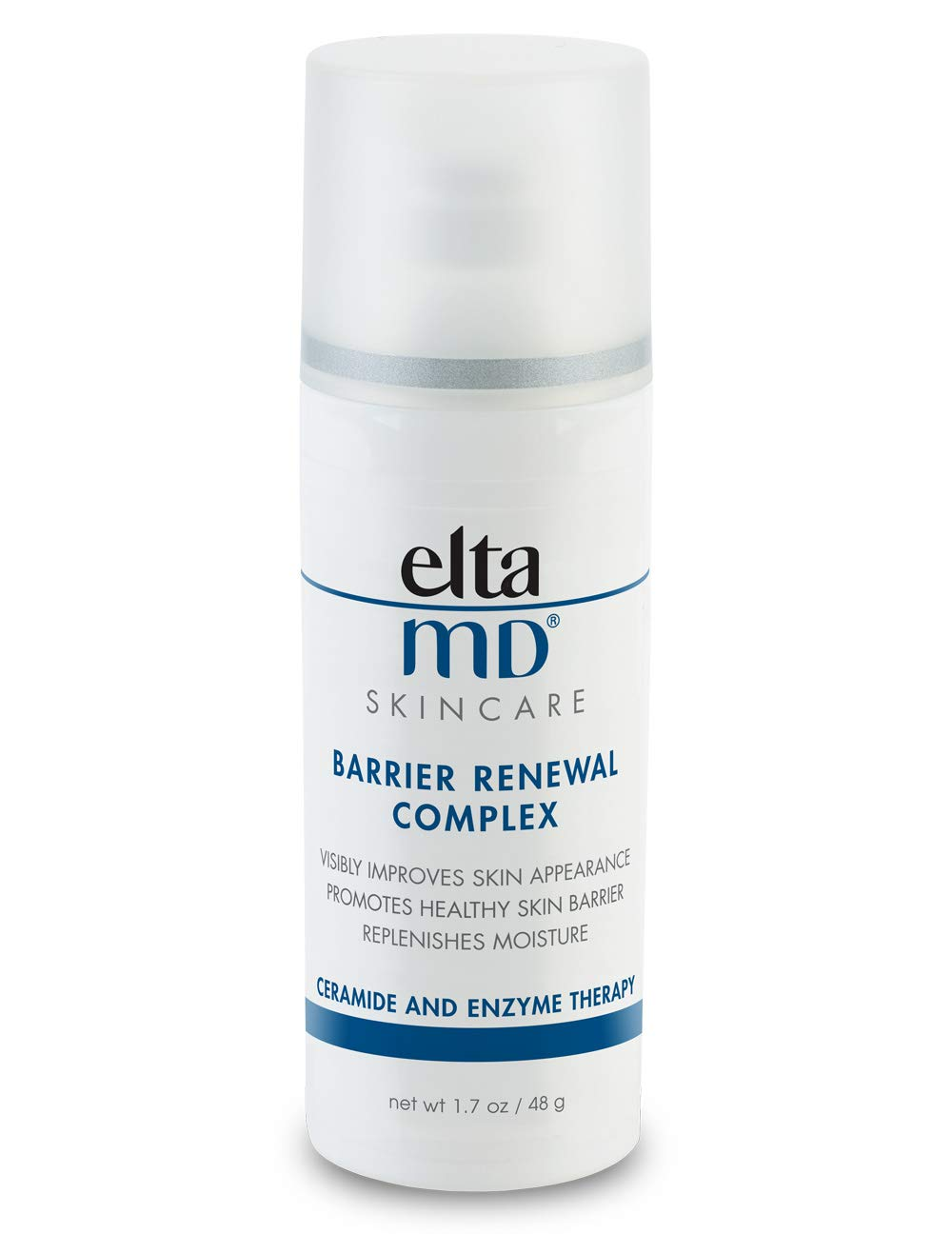 EltaMD Barrier Renewal Complex Face Moisturizer with Hyaluronic Acid for Dry Skin, Works to Visibly Minimize Fine Lines and Wrinkles, Hydrating Nightime Face Lotion, 1.7 oz