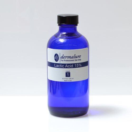 Lactic Acid Peel 15% 8oz. 240ml Pro Size (Level 1 pH 1.7)