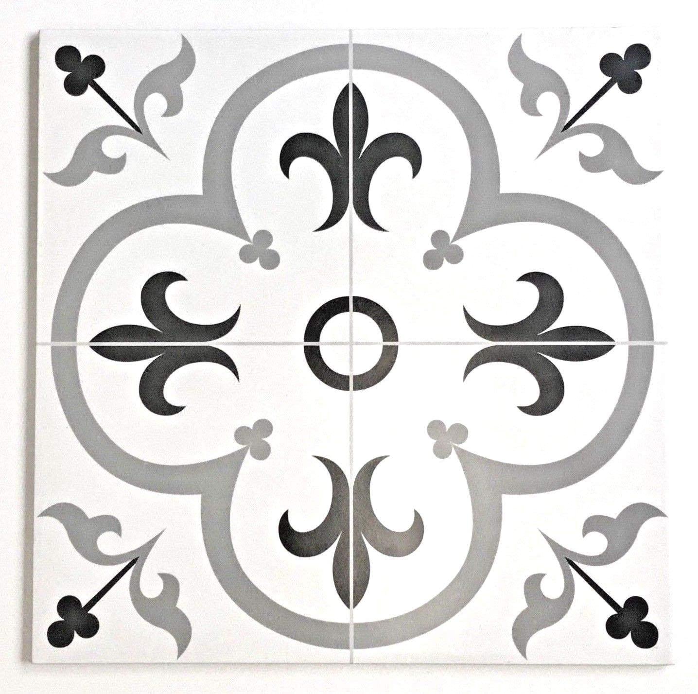 Valencia 16 inch x 16 inch Ceramic Floor Tile