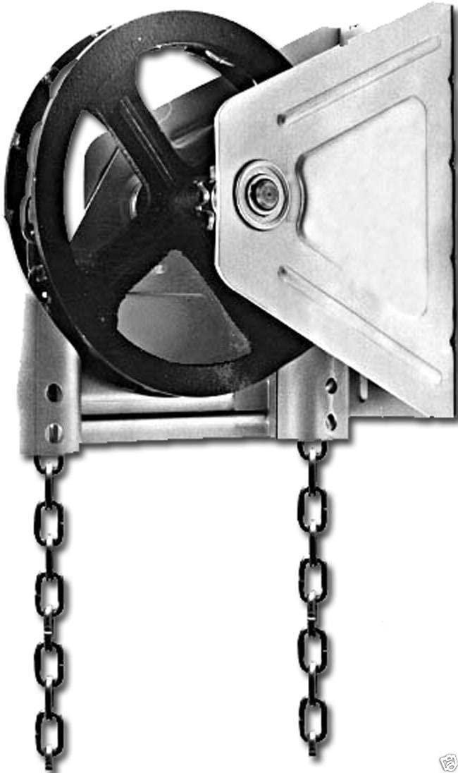 Wall Mount 4:1 Reduction Motor Operated Doors Hand Chain Garage Door Hoist