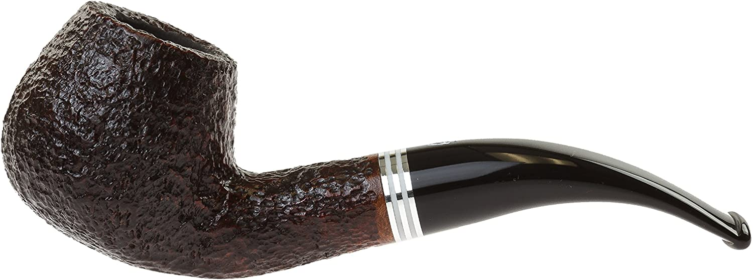 Savinelli Bianca 645 Tobacco Pipe - Rusticated