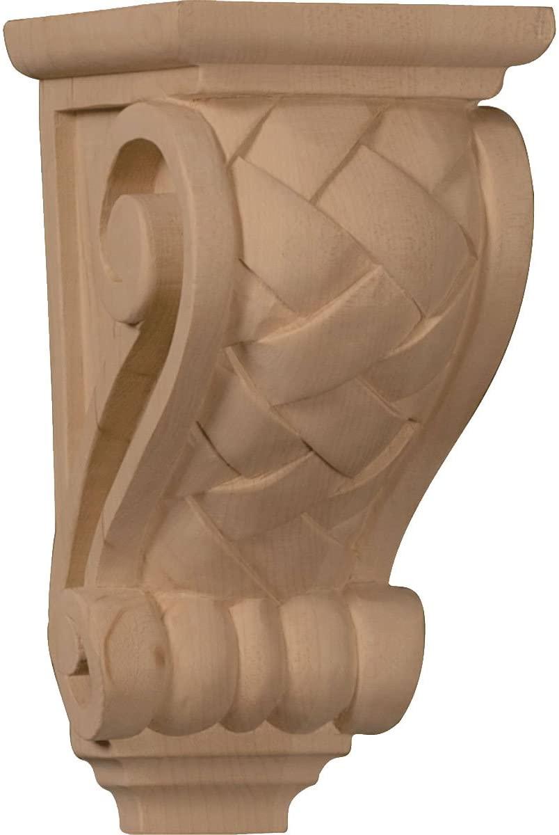 Ekena Millwork CORW03X04X07BWCH-CASE-4 Corbel, Factory Primed