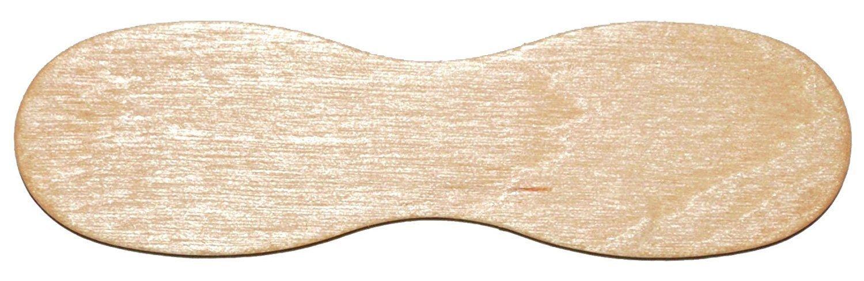 Perfect Stix 60mm Birchwood Plain Taster Ice Cream Paddle Spoon, 2-3/8 Length (Pack of 1,000)