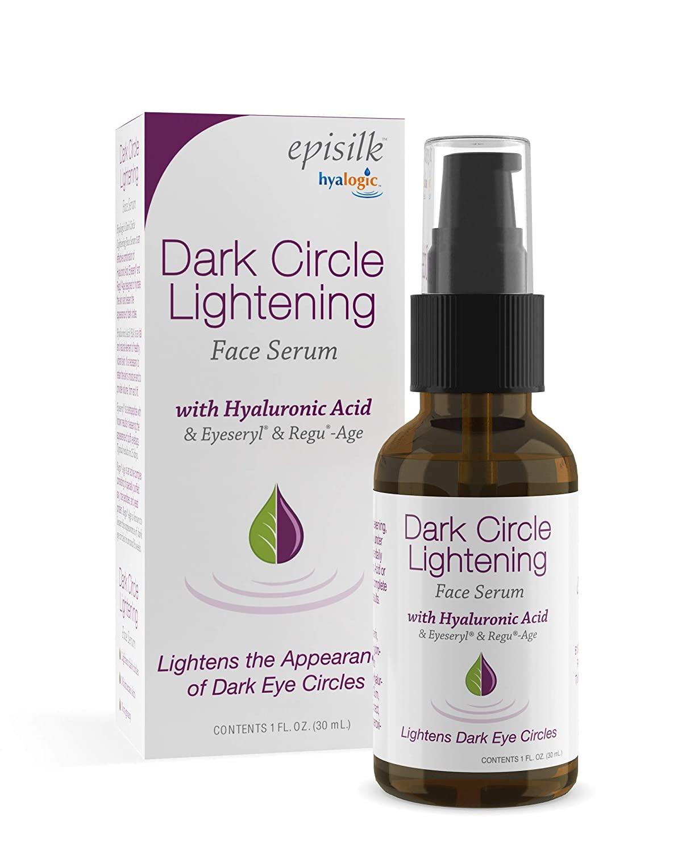 Hyalogic Eye Serum for Under Eye Dark Circles– w/Hyaluronic Acid, Eyeseryl & Regu-Age – Non-Greasy Eye Cream for Dark Circles, Puffiness, Eye Bags, Wrinkles & Fine Lines