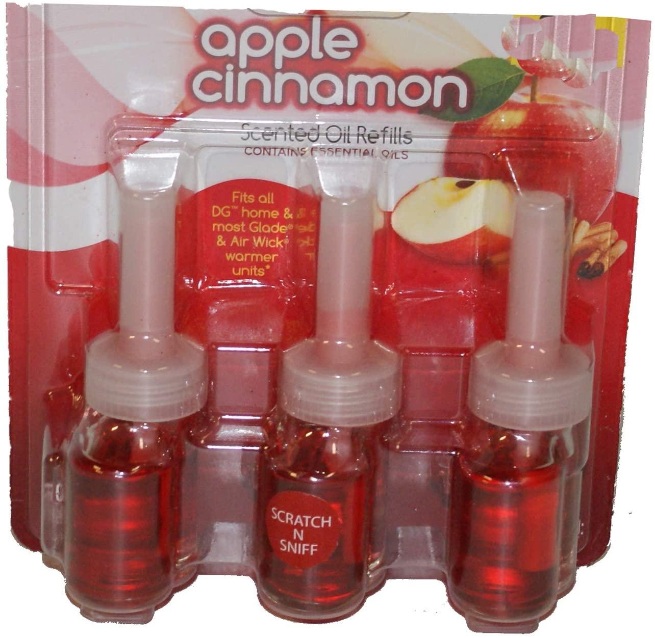 Apple Cinnamon Scented Oil Refills 3