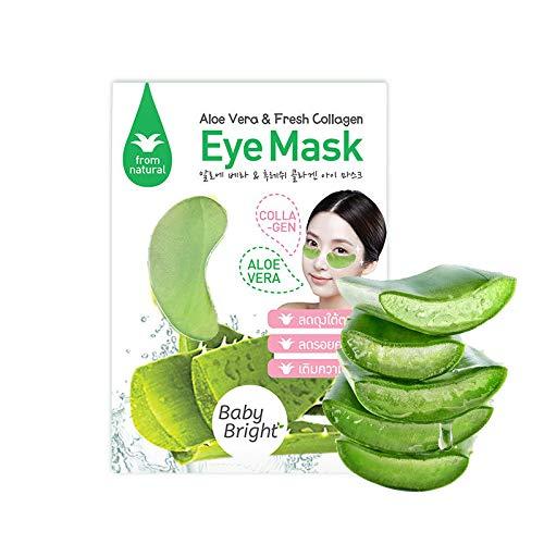 5 Paris Aloe Vera & Fresh Collagen Hydra Gel Eye Patch Wrinkle Lift Mask Eye Patch Moisturizing Anti Wrinkles Eye Bag Moisturizing Eye Mask