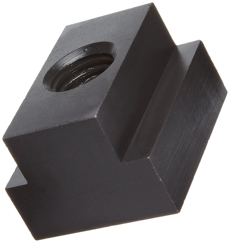 Steel T-Slot Nut, Black Oxide Finish, Grade 8, Right Hand Threads, Class 2B 3/4