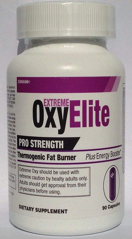 Swan Extreme OxyElite Pro Strength Thermogenic Fat Burners