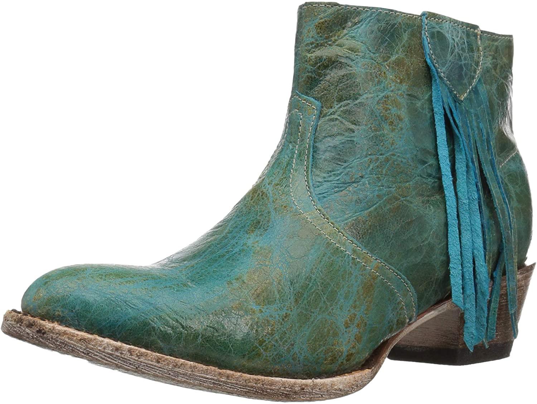Ferrini Women's Fringe Bootie Ankle Boot