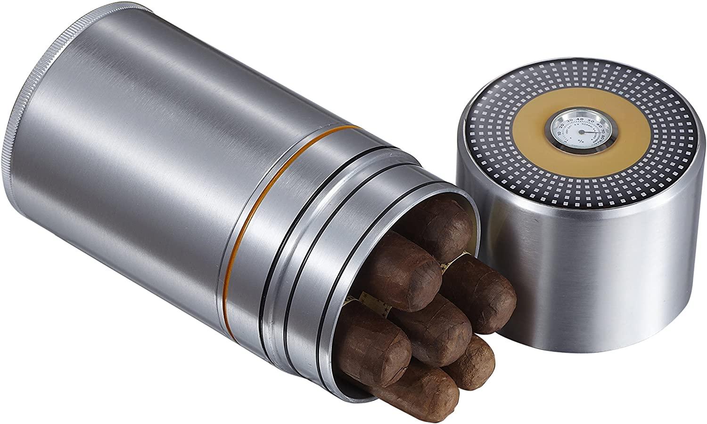 Visol Products VCASE454 Big Joe Travel Cigar Humidor Case