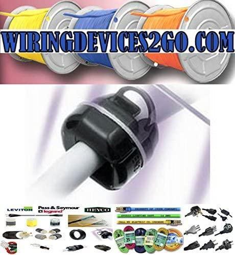 Heyco 1150 SR-5N-4 BLACK STRAIN RELIEF BUSHING (package of 250)
