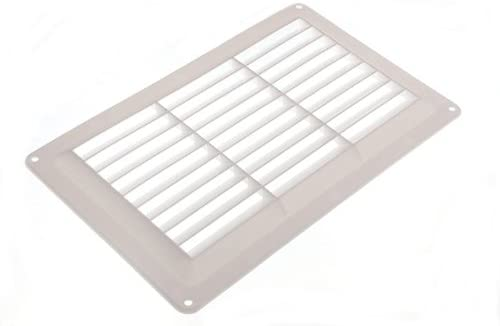20 of Fixed Louvre Air Vent Grille for Openings Up to 9 X 6 229Mm 152Mm
