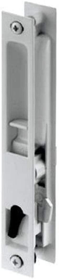 Slide-Co 143619 White Sliding Patio Door Flush Latch