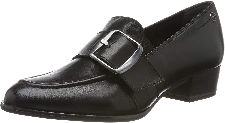 Tamaris Women's Loafers, Black Black 1, 4 UK