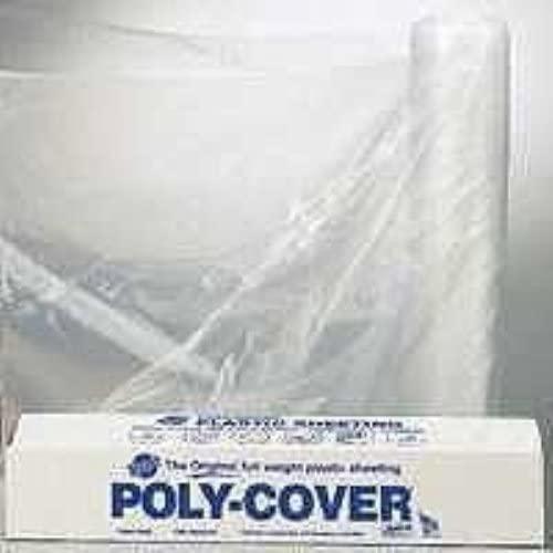 ORGILL Poly 6X84-C Lbm Poly Polyfilm, 6 Mil T, 8.3 W X 100 Ft L, Plastic, Clear