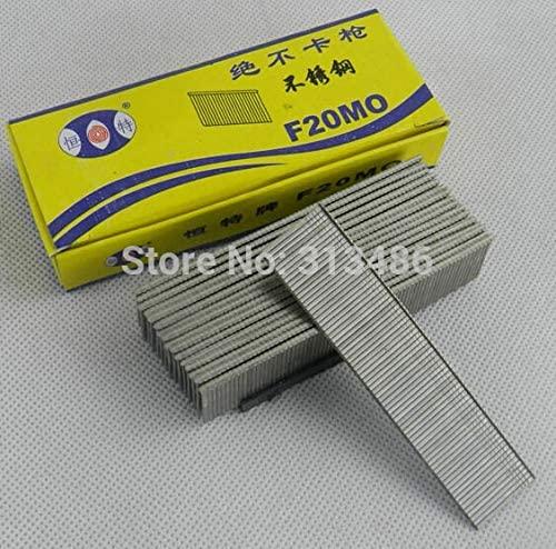 Ochoos 1100pcs gun nails Electric Straight stainless steel nail gun staples 20mm