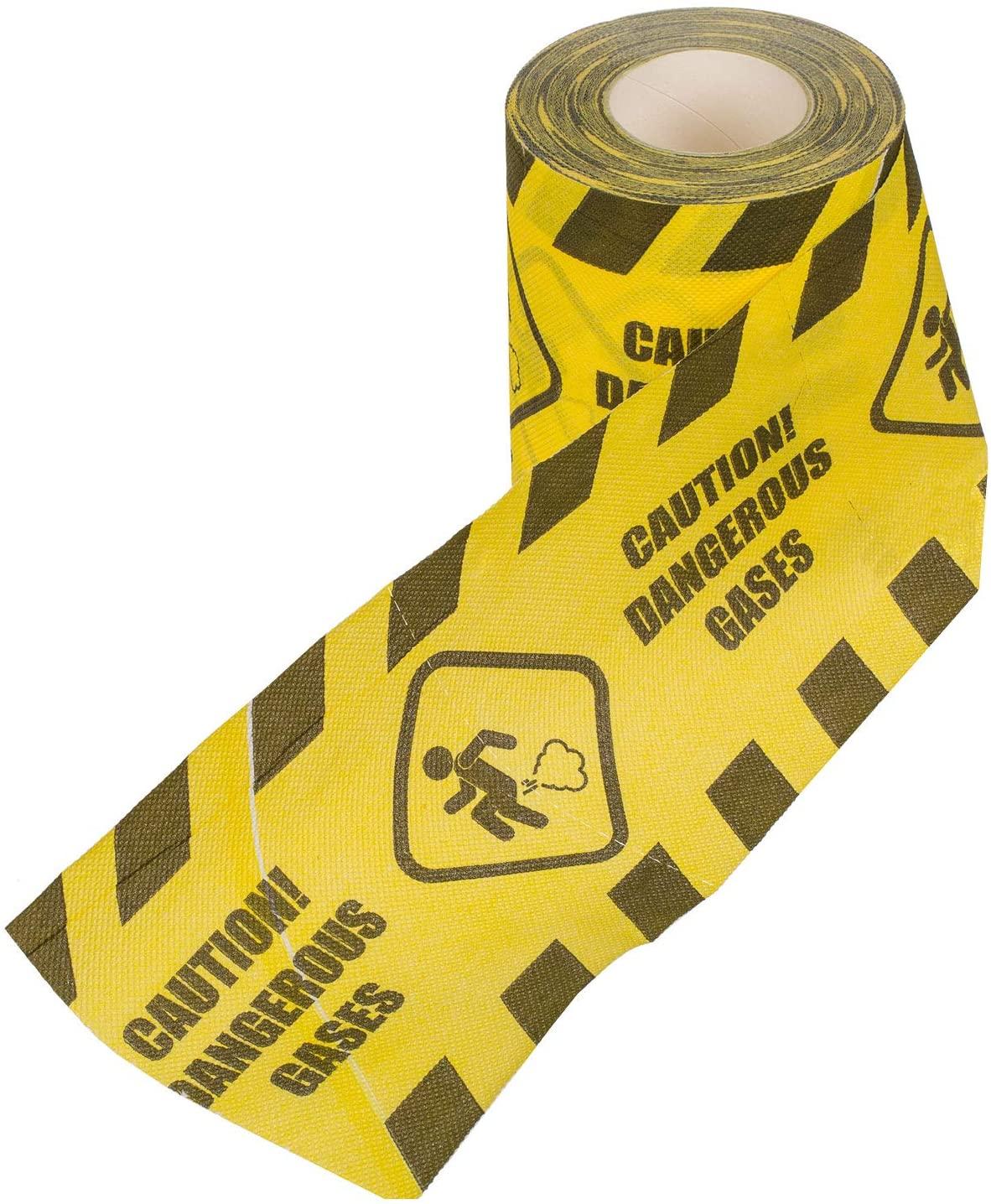 Out of the Blue Caution Dangerous Gases 33/0047 Toilet Paper