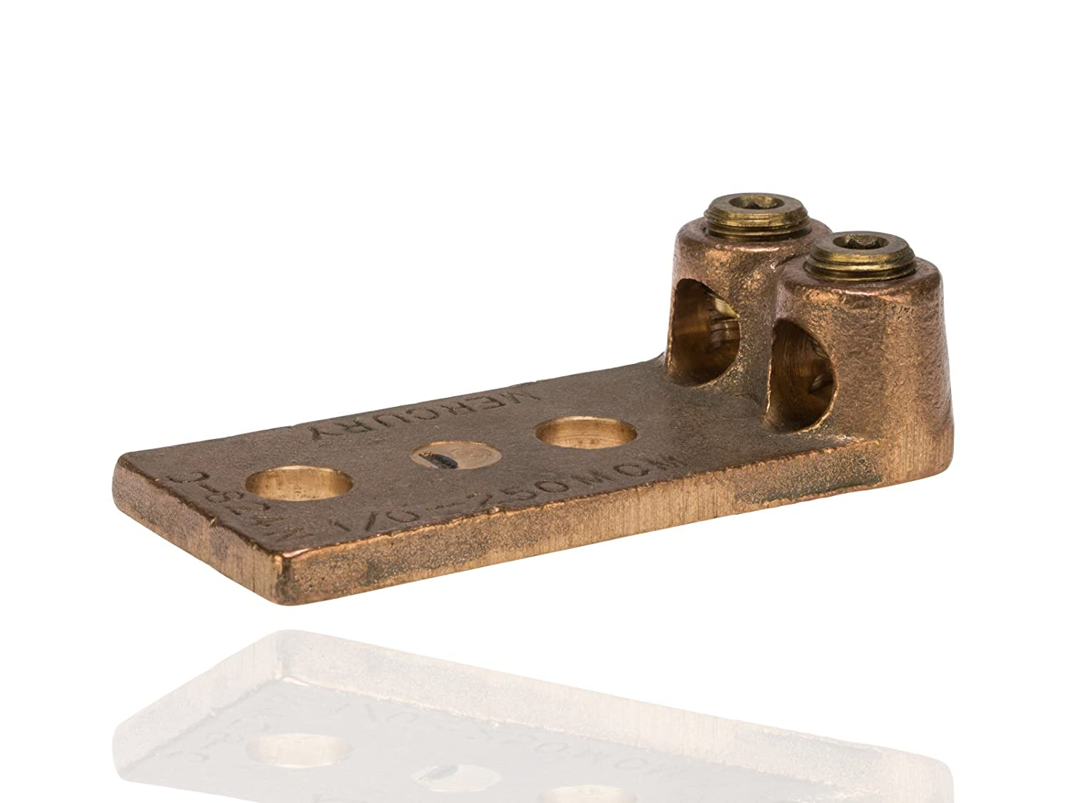 Split Bolt, Post and Tap Connector, Type TL Copper and Cast Bronze Terminal Lug, 4/0 str - 300 MCM Wire Range, 1/2