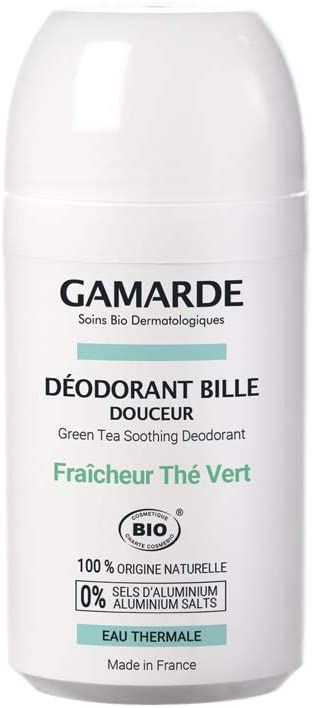 GamARde Organic Roll-on Deodorant Fresh Green Tea 50ml
