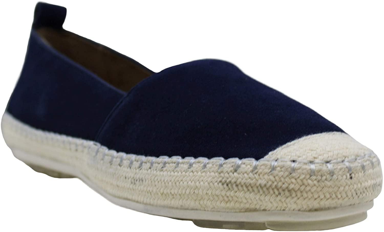 Aqua Womens Blink Closed Toe Casual Espadrille Sandals, Navy, Size 6.0